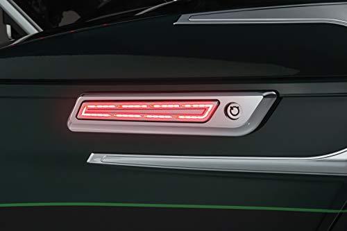 Kuryakyn 5476 Motorcycle Lighting Accessory LED Saddlebag Hinge Accents for 2014-19 Harley-Davidson Touring Motorcycles Chrome 1 Pair