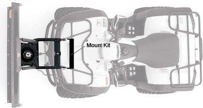 Warn Plow Mount ProVantage Kawasaki KVF650 Brute Force 81922