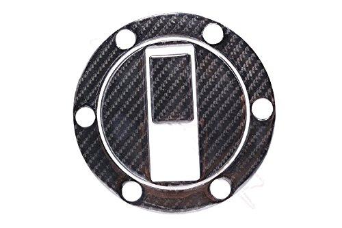 Carbon Fiber Fuel Gas Tank Petrol Cap Pad Protector Sticker Badge Decal for TRIUMPH 07-14APRILIA SHIVER 750 09-13KTM 990 SUPER DUKE 5