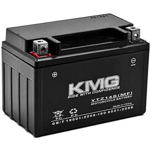 KMG KTM 990 Adventure 2003-2012 YTZ14S Sealed Maintenace Free Battery High Performance 12V SMF OEM Replacement Maintenance Free Powersport Motorcycle ATV Scooter Snowmobile KMG