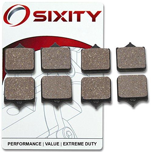Sixity Front Ceramic Brake Pads 2009-2011 KTM 990 Super Duke R Set Full Kit Complete