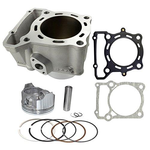 AHL Cylinder Head Piston Kit Gasket Set 78mm Bore for Kawasaki KLX250 1993-2014