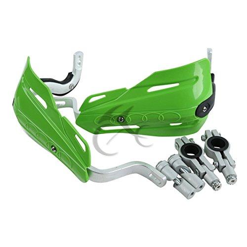 TCMT Green 78 22mm Handlebar Hand Brush Guard Handguards For Kawasaki KLR650 KLX110 KLX250 KX450F