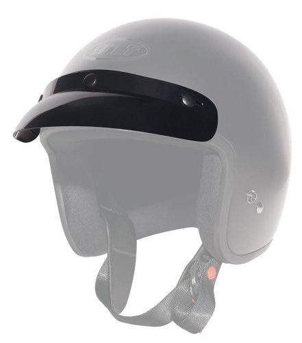 CUSTOM BILT Jet Helmet Visor - Black