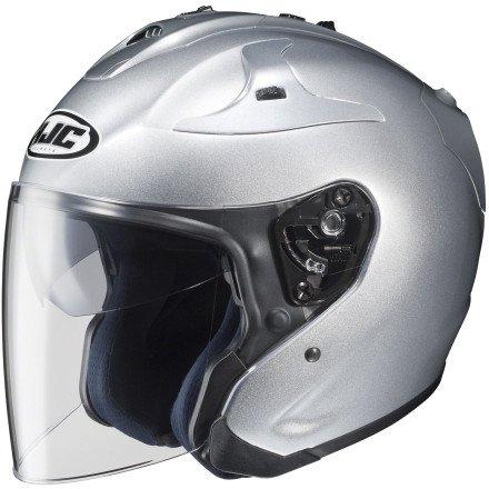 HJC FG-Jet Helmet LARGE SILVER