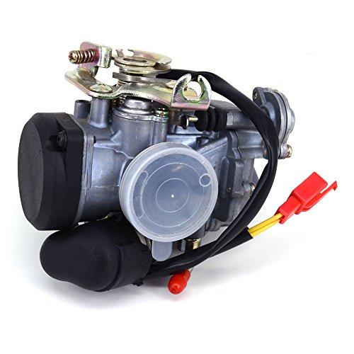 JFG RACING 26mm CVK26 Carb Carburetor Replace Keihin For ATV Scooter GY6 150cc 200cc 250cc Motorcycle Scooter