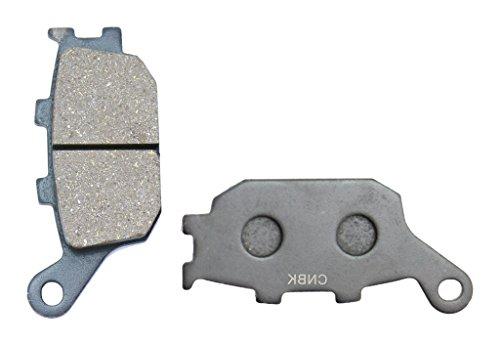 CNBK Rear Brake Pad Semi Metallic for HONDA Street Bike CBR600 CBR600F CBRF4 CBR 600 F4 98 99 1998 1999 1 Pair2 Pads