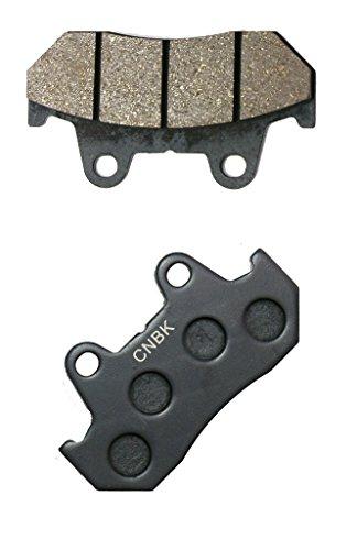 CNBK Rear Brake Pads Semi-met fit HONDA Street Bike VF1100 VF1100C VF 1100 C SC12 C948 83 84 85 86 1983 1984 1985 1986 1 Pair2 Pads