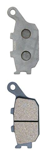 CNBK Rear Brake Shoe Pads Semi-Metallic for HONDA Street Bike VT1100 VT 1100 C3 Shadow Aero SC39 K012 98up 1998up 1 Pair2 Pads