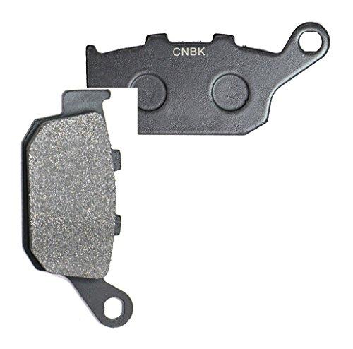 CNBK Rear Disc Brake Pads Semi-Metallic for HONDA Street Bike CBR400 CBR400RR CBR 400 RR 88up 1988up 1 Pair2 Pads