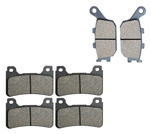 CNBK Semi-met Brake Shoe Pads Set fit HONDA Street Bike CBR1000 CBR1000RR CBR 1000 cc 1000cc RR Fireblade 04 05 2004 2005 6 Pads