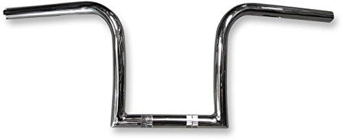 Nash Motorcycle Company 10MCHDKT 1in Midget Gimp Handlebar - Chrome Handle Bar Size 1in Color Chrome