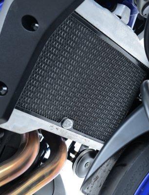 R&G Radiator Guard For Yamaha FZ-07 14-17 MT-07 18 XSR700 18 - Black