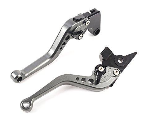 Short Brake Clutch Levers CNC Adjustable Aluminum for YAMAHA FZ1 FAZER 06-15FZ8 11-15FZ6R 09-15FZ6 FAZER 04-10XSR 700900 ABS 16-17MT-07 14-17MT09SRFZ9 14-17XJR DIVERSION SPL077