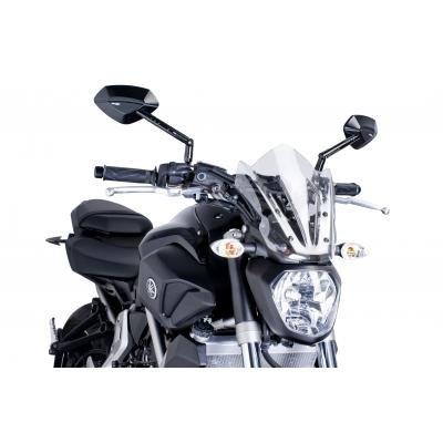 Windscreen Puig Sport Yamaha MT-07 13-18 dark smoke