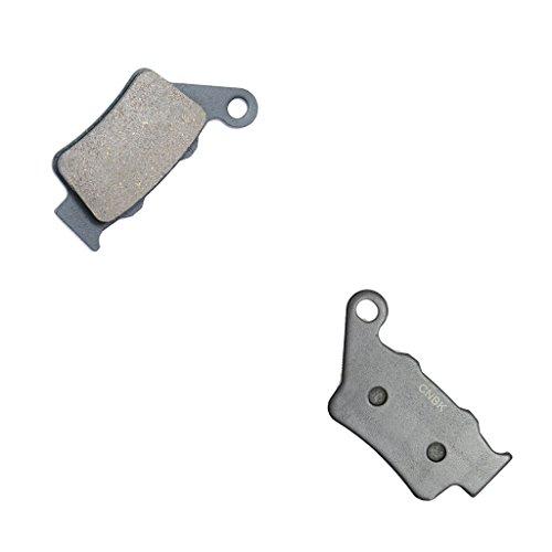CNBK Rear Brake Pad Semi Met fit GAS GAS Dirt Bike MC125 MC 125 96 97 98 99 1996 1997 1998 1999 1 Pair2 Pads