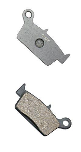CNBK Rear Brake Pad Semi Metallic fit GAS GAS Dirt Bike EC200 EC 200 00 01 02 03 04 05 06 07 08 09 2000 2001 2002 2003 2004 2005 2006 2007 2008 2009 1 Pair2 Pads