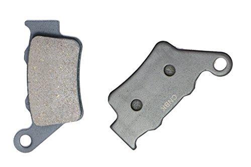 CNBK Rear Brake Pad Semi-Metallic for GAS GAS Dirt Bike EC250 EC 250 97 98 99 1997 1998 1999 1 Pair2 Pads