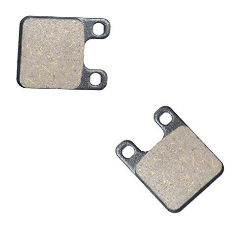 CNBK Rear Brake Pad Semi Metallic for GAS GAS Dirt Bike GT327 GT 327 Contact 93 94 95 1993 1994 1995 1 Pair2 Pads