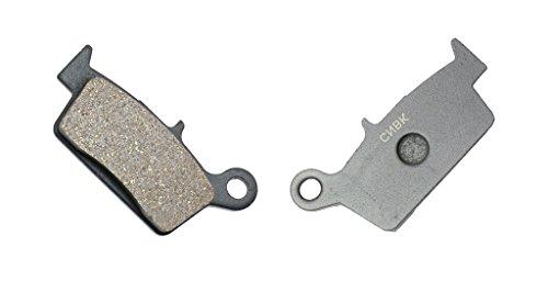CNBK Rear Brake Pads Semi-Metallic for GAS GAS Dirt Bike FSR450 FSR 450 Enduro 07 08 09 10 11 12 13 14 15 2007 2008 2009 2010 2011 2012 2013 2014 2015 1 Pair2 Pads