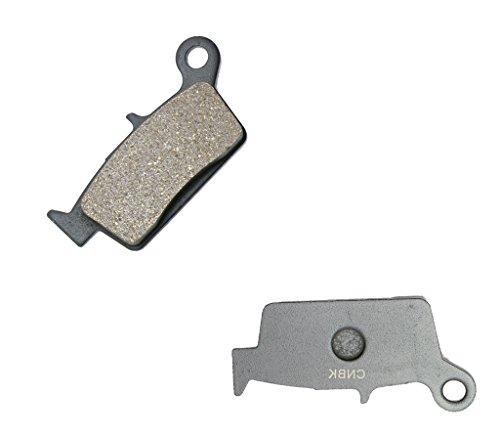 CNBK Rear Brake Shoe Pads Semi-Metallic fit GAS GAS Dirt Bike 400 Pampera 06 06 2006 1 Pair2 Pads