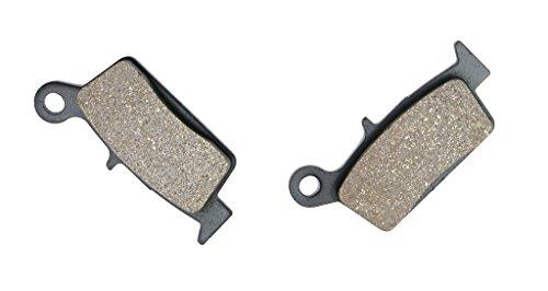 CNBK Rear Brake Shoe Pads Semi Metallic fit GAS GAS Dirt Bike SM450 SM 450 FSR 07 08 09 10 11 12 13 14 15 2007 2008 2009 2010 2011 2012 2013 2014 2015 1 Pair2 Pads