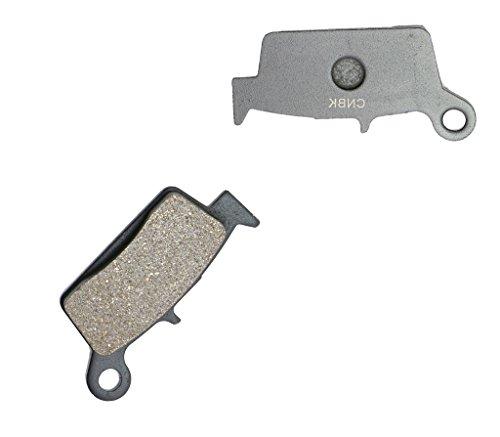 CNBK Rear Disc Brake Pads Semi Met fit GAS GAS Dirt Bike EC300 EC 300 00 01 02 03 04 05 06 07 08 09 2000 2001 2002 2003 2004 2005 2006 2007 2008 2009 1 Pair2 Pads