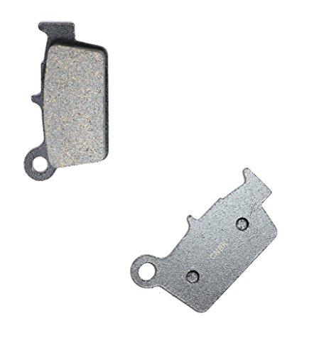 CNBK Rear Disc Brake Pads Semi Met fit for GAS GAS Dirt Bike EC450 EC 450 F 4T 10 11 12 13 14 15 2010 2011 2012 2013 2014 2015 1 Pair2 Pads