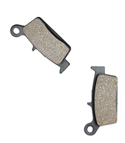 CNBK Rear Disc Brake Pads Semi-Metallic fit GAS GAS Dirt Bike EC450 EC 450 FSR FSE Enduro 4T 03 04 05 06 07 08 09 2003 2004 2005 2006 2007 2008 2009 1 Pair2 Pads