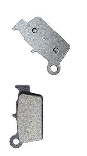 CNBK Rear Disc Brake Pads Semi Metallic for GAS GAS Dirt Bike EC125 EC 125 10 11 12 13 14 15 2010 2011 2012 2013 2014 2015 1 Pair2 Pads