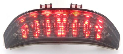 2003-2006 Honda CBR-600RR  2004-2007 CBR-1000RR Integrated Sequential LED Tail Lights Smoke Lens