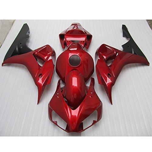 Alpha Rider Motorcycle ABS Injection Mold Deep Red Painted Fairing Bodywork kits Set For Honda CBR1000RR CBR 1000RR CBR 1000 RR 2006 - 2007
