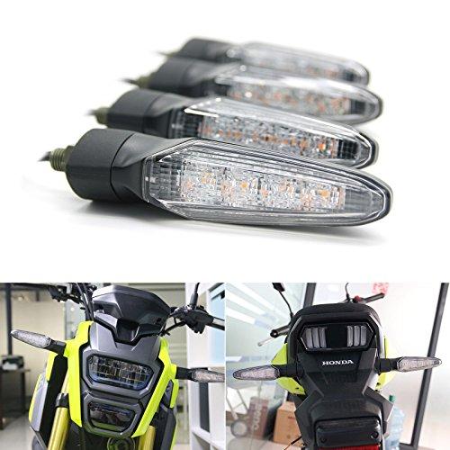 SMD LED Technology Front and Rear Turn Signal Light Indicator Universal for Yamaha MT07 MT09 MT10 MT-125 FZ-07 YFZ-R1 FZ-10 YFZ-R6 HONDA 500R 600RR 650F 1000RR CRF450 Grom125 MSX125