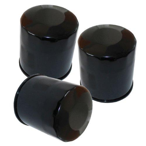 Caltric 3-PACK Oil Filter Fits HONDA GL1800 GL-1800 GL1800B GL1800B2 GL1800BD 1800 2001-2013
