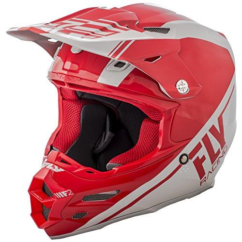 Fly Racing 2018 F2 Carbon Helmet - Rewire X-Small REDGrey