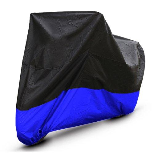 Black Blue Motorcycle Cover For Honda Goldwing GL 1000 1100 1200 UV Dust Prevention XXL