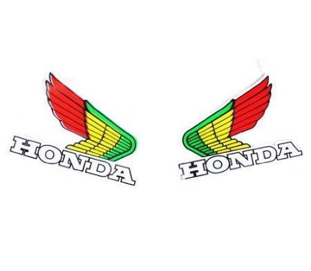 05Z HONDA Wings Decal Sticker ATV Motocross Buggy Bike TRX CRF DE47