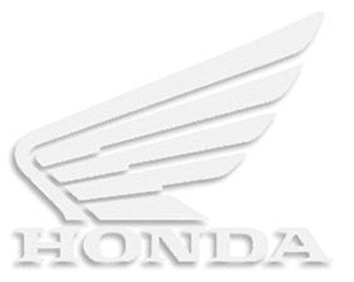 Factory Effex FX Diecut Hon 3PkDealer Die-Cut LogosWhiteHonda289365Honda Wing White Die-Cut