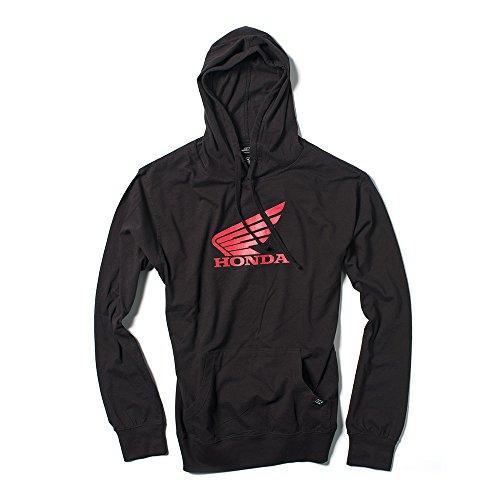 Factory Effex Unisex-Adult Honda Wing Lightweight Hooded Sweatshirt Black X-Large 1 Pack