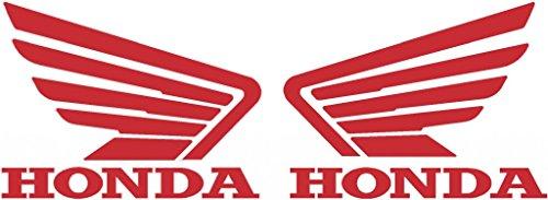 Set of 2 Honda Wing Tank Decals