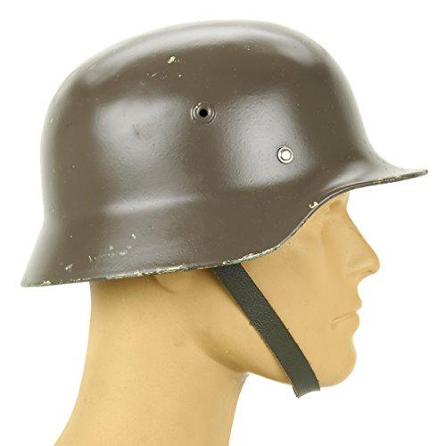 Original German M40 WWII Type Steel Helmet- Finnish M4055 Size 56cm US 7