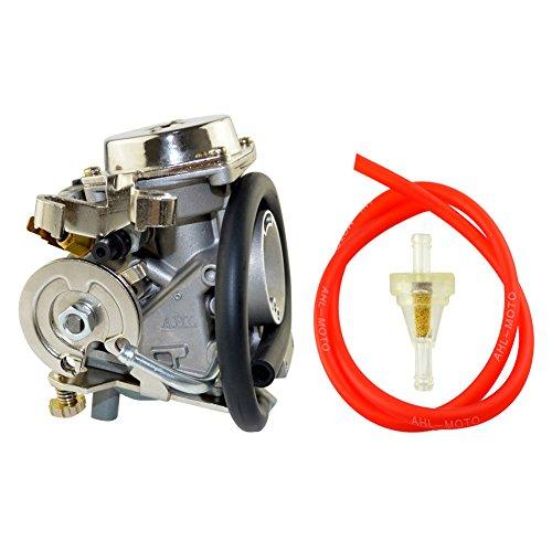 AHL Carburetor Fuel Filter 30cm Oil Tube Kit for Yamaha XV250 Route 66  Virago 250  V-Star 250 1988-2014
