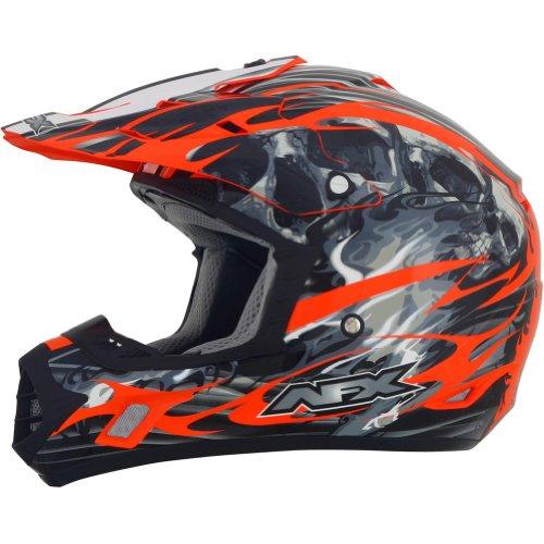 AFX FX-17 Inferno Helmet  Distinct Name Orange Gender MensUnisex Primary Color Orange Helmet Type Offroad Helmets Helmet Category Offroad Size Md 0110-3568