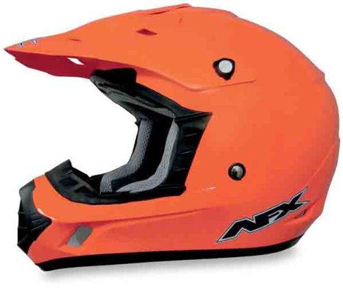 AFX FX-17 Solid Helmet  Size Sm Distinct Name Safety Orange Helmet Type Offroad Helmets Helmet Category Offroad Primary Color Orange Gender MensUnisex 0110-3050