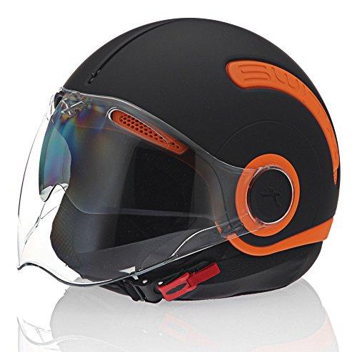 Nexx SX10 OrangeBlack Motorcycle Helmet X Large
