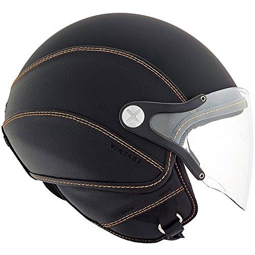 Nexx SX60 Vintage 2 Helmet - Black  Orange - L