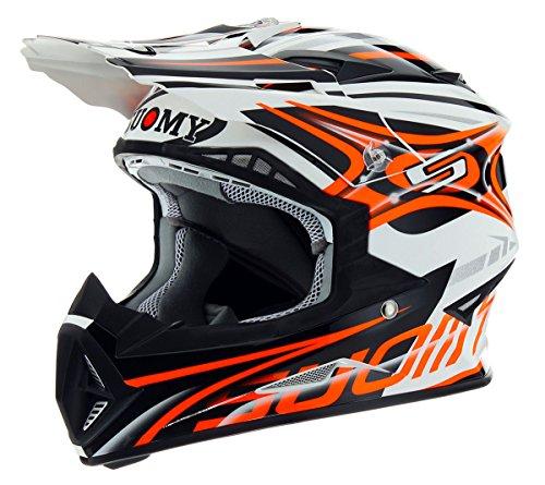 Suomy Rumble Vision Orange Helmet Medium