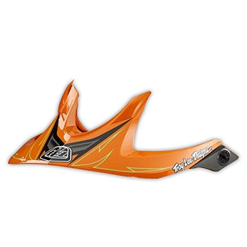 TroyLee A1 Trail Helmet Turbo Visor Orange