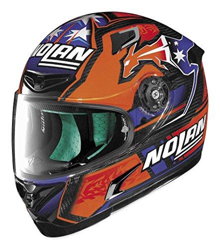 X-lite XF-1-XT0084 X-802RR Nolan Stoner Replica Helmet Distinct Name Stoner Gender MensUnisex Primary Color Orange Helmet Type Full-face Helmets Helmet Category Street Size XL