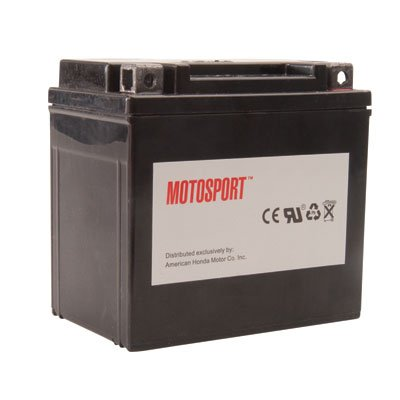 Motosport Maintenance-Free Battery with Acid GTX20LBS for Harley-Davidson Softail Slim FLS 2012-2015